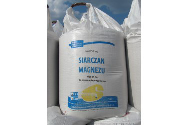 Сульфат магнію гранульований MgO – 21%, SO3 – 36% Польща