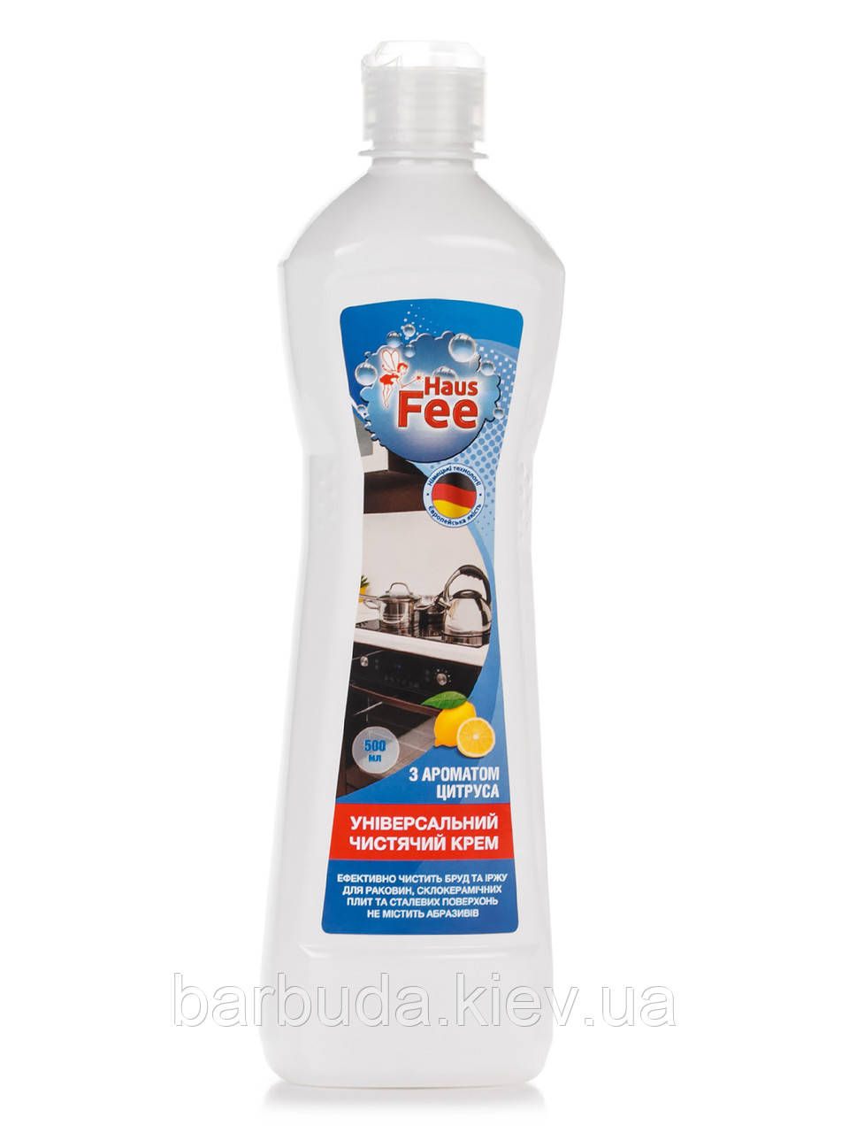 """Крем чистячий універсальний з ароматом цитруса  ТМ """"Haus Fee"""" 500 мл"""