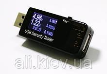Тестер USB павербанків телефонів аккумуляторів на ємність ток потужність