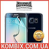 Защитная пленка для телефона Samsung Galaxy S6 Edge (Full Cover) – Ringke, фото 1