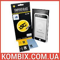 Защитное стекло для Apple iPhone 7 Plus/8 Plus (Black) – iSG Tempered Glass 3D Full Cover , фото 1