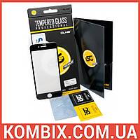Защитное стекло для Apple iPhone 7/8 (Black) – iSG Tempered Glass 3D Full Cover , фото 1