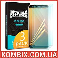 Защитное стекло для Samsung Galaxy A8 Plus 2018 – Ringke Premium Tempered Glass, фото 1