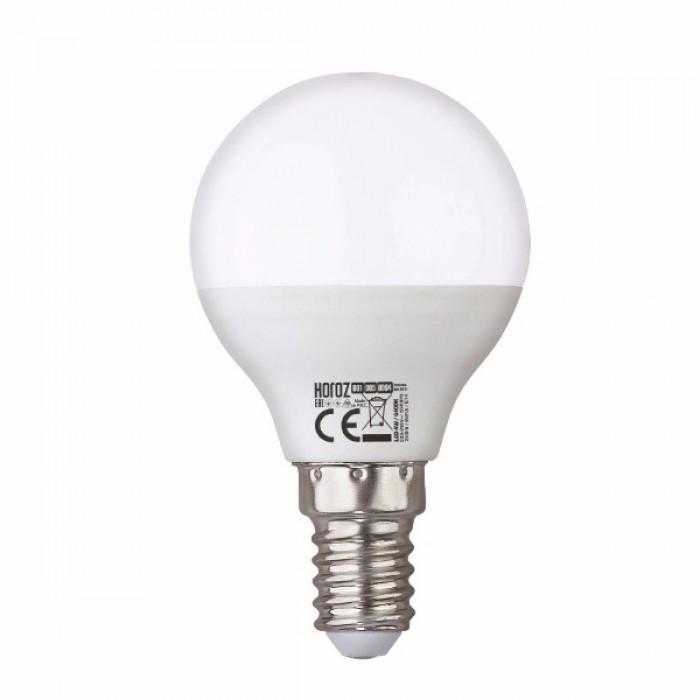 Светодиодная лампа шарик LED Horoz ELITE-6 4200к