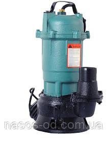 Насос фекальный Euroaqua WQD 1-1.1 для выгребных ям 1.1кВт Hmax10.5м Qmax250л/мин (без поплавка)