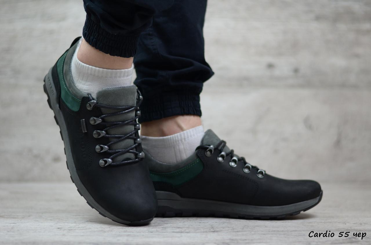 Кожаные мужские кроссовки Cardio