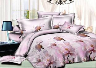 Двуспальный комплект постельного белья евро 200*220 хлопок (10003) TM KRISPOL Украина