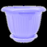 Цветочный горшок «Волна» (Алеана) 36х28, фото 2