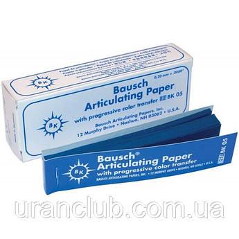 Артикуляционная бумага Articulating Paper 200мк. Bausch