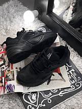 Размер 42, 44 и 45 !!! Мужские кроссовки Nike MK2 Tekno Black /найк / реплика (1:1 к оригиналу), фото 2