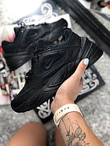 Размер 42, 44 и 45 !!! Мужские кроссовки Nike MK2 Tekno Black /найк / реплика (1:1 к оригиналу), фото 3