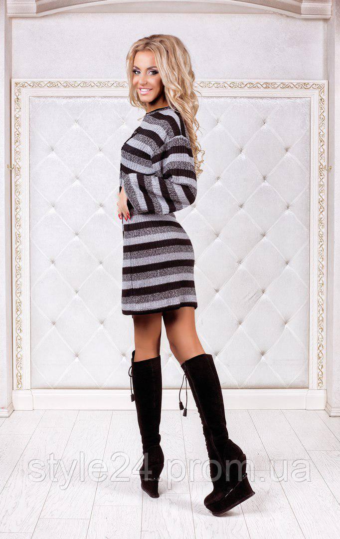 ЖІноче ангорове плаття з люрексом та нашивкою.Р-ри 42-46  продажа ... ff8dbfd0b4ccd