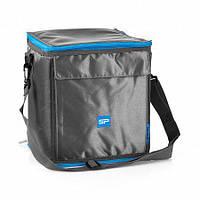 Термо - сумка (ланч-бокс) из полиэстера на 12 л. Spokey ICECUBE 4 (921882) grey/blue