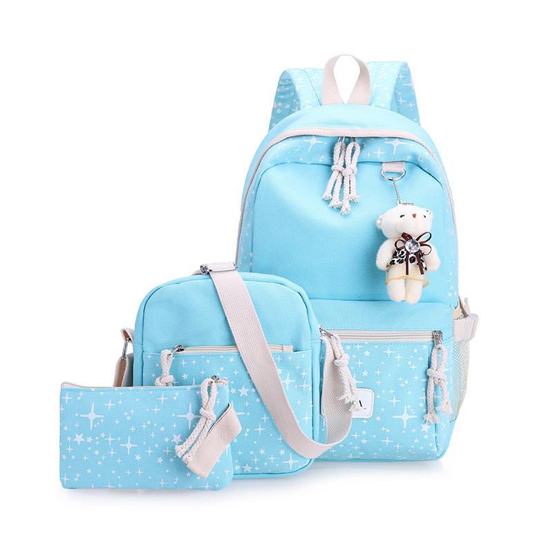 Рюкзак школьный с набором аксессуаров