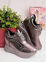 Женские кроссовки на платформе 25929, фото 1