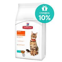 Сухой корм для кошек гипоаллергенный Hills SP Feline Adult Opimal Care Tuna, 10 кг