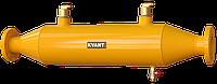 Горизонтальный воздухоулавливатель KVANT DisAir HF фланцевый/HF.SS нерж.сталь