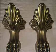 Ножки львиные для ванны - бронза, комплект 4 шт, фото 1