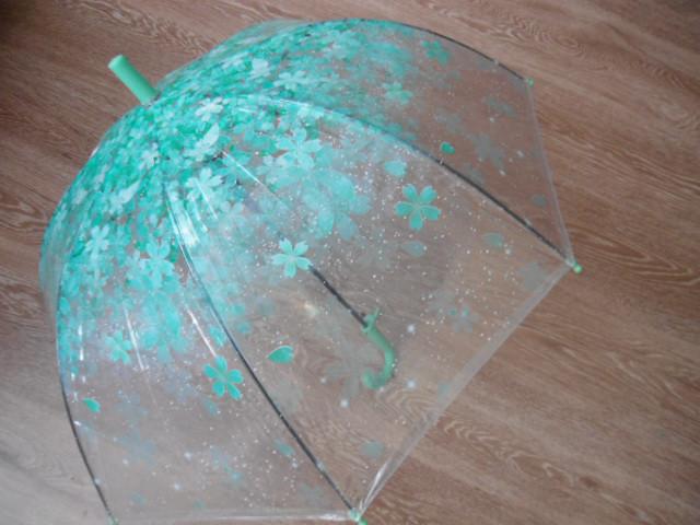 Підлітковий парасолька парасольку прозорий парасолька, напівавтомат
