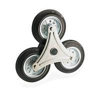 Колеса для лестниц Фрегат 10 160x3 РК, диаметр 160 мм, нагрузка 160 кг (Резина стандартная черная / cталь (эконом серия)) колесо для лестниц