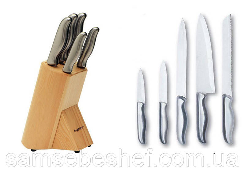 Набор ножей Berghoff Hollow 6 предметов 1307143
