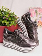 Женские кроссовки на платформе 25926, фото 1