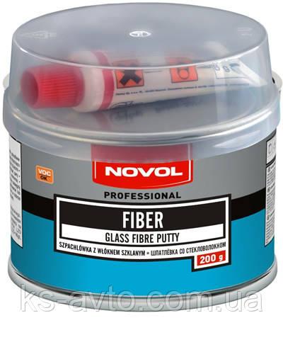 Шпатлевка со стекловолокном GLASS FIBER PUTTY NOVOL