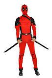 Дэдпул карнавальный костюм мужской Deadpool / BL - ВМ241, фото 2