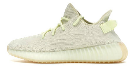 """Жіночі кросівки Adidas Yeezy 350 V2 """"Butter"""" Yellow, фото 2"""