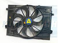 Диффузор радиатора в сборе на Хьюндай Туксон(Hyundai Tucson) 2003-2010, фото 1
