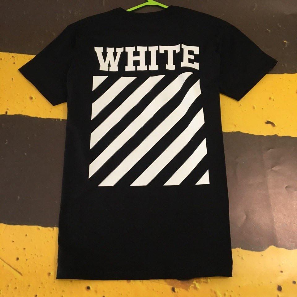 Off-White черная мужская футболка • не оригинал