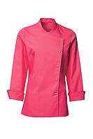 Китель поварской женский розовый Atteks - 00901