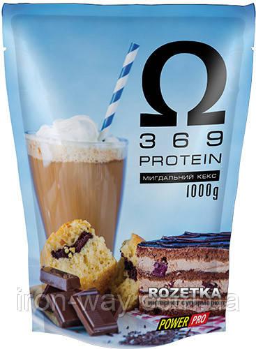PowerPro Omega 3-6-9 1000g (Мигдальний кекс)