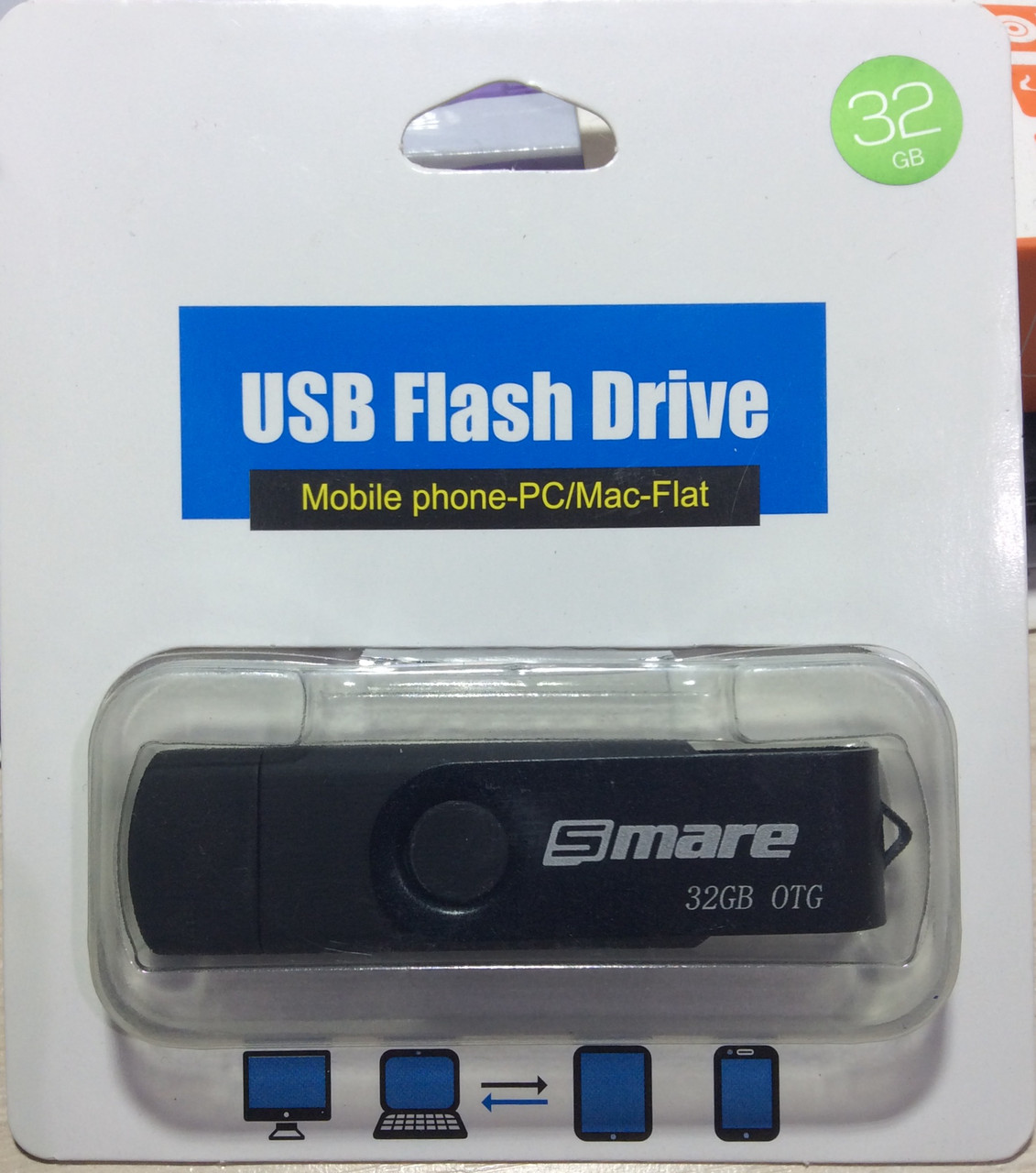 Флешка 16 гб USB, micro USB Flash drive Smare