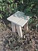 Табурет деревянный липа маленький, фото 3