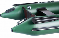 Надувная лодка Ладья ЛТ-270-МВ (моторная) со сланью-книжкой, фото 7