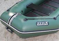 Надувная лодка Ладья ЛТ-270-МВ (моторная) со сланью-книжкой, фото 6