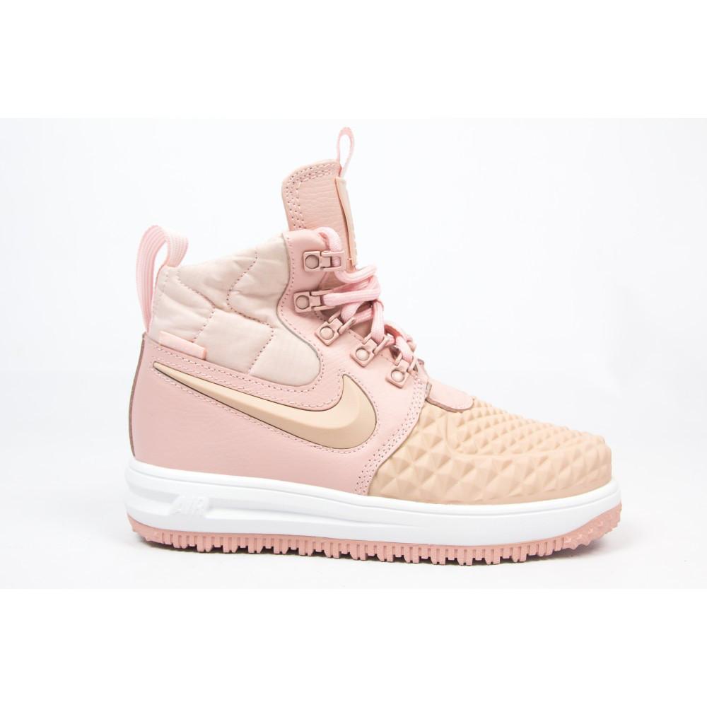 sprzedaż hurtowa Najnowsza moda zaoszczędź do 80% Женские кроссовки Nike Lunar Force 1 Duckboot Pink