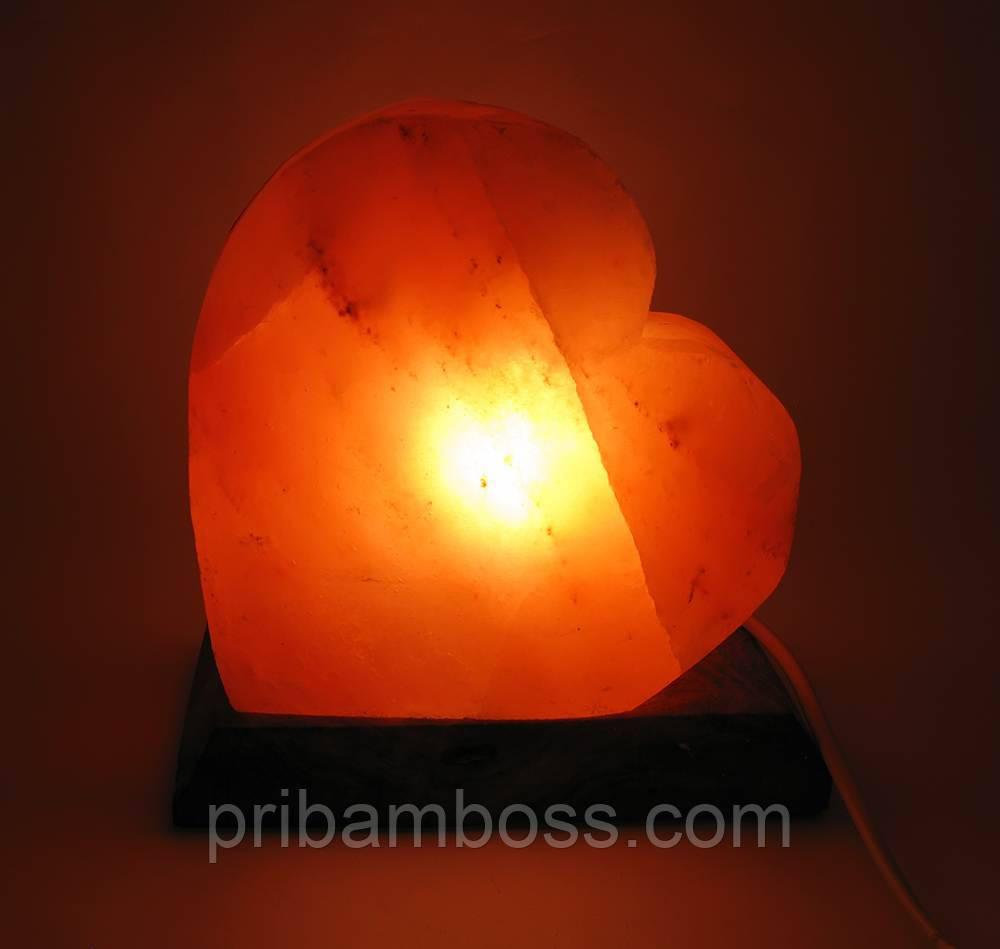 """Оляная лампа """"Серце"""" (18х18х10 см)"""
