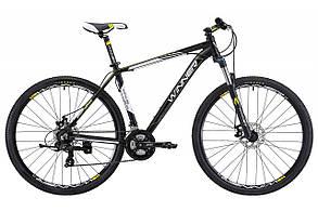 """Велосипед WINNER 29"""" IMPULSE 22"""" чёрно-белый матовый"""