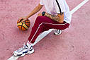 Спортивные штаны мужские бордовые бренд ТУР модель Кейдж (Cage) размер S, M, L, XL, фото 6