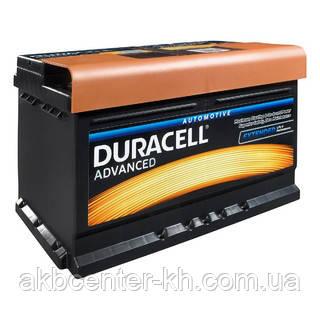 Автомобильные аккумуляторы DURACELL Advance DA 72 UK100 (h=175)