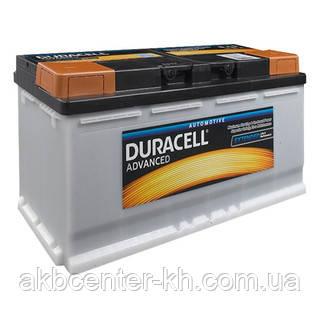 Автомобильные аккумуляторы DURACELL Advance DA110 UK020