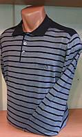 Мужской Джемпер ворот-поло с длинным рукавом бренд ZILLI