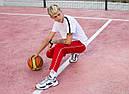 Cпортивные штаны мужские красные с полосками от бренда ТУР модель Кейдж (Cage) размер S, M, L, XL, фото 4