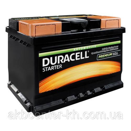 Автомобильные аккумуляторы DURACELL Starter DS 62 UK027