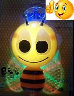 """Светильник светодиодный ночной с фотоэлементом ( ночник) VITO """"Пчёлка"""""""