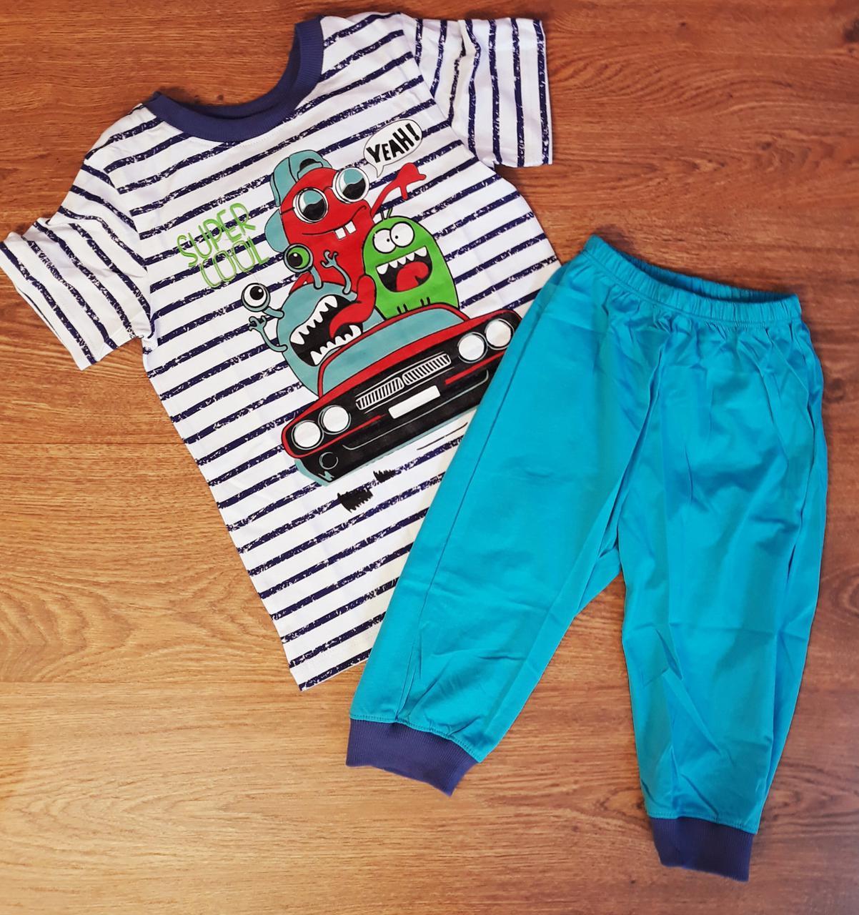 a70e5c8e0a210 Пижама для мальчиков 6 лет Рост 122 Синий Супрем ПЖ44(122) Бэмби Украина