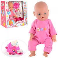 Кукла-пупс Baby Born 8001-1, 9 функций, 9 аксессуаров