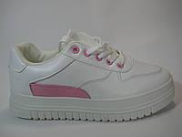 Женские кроссовки белого цвета, фото 1